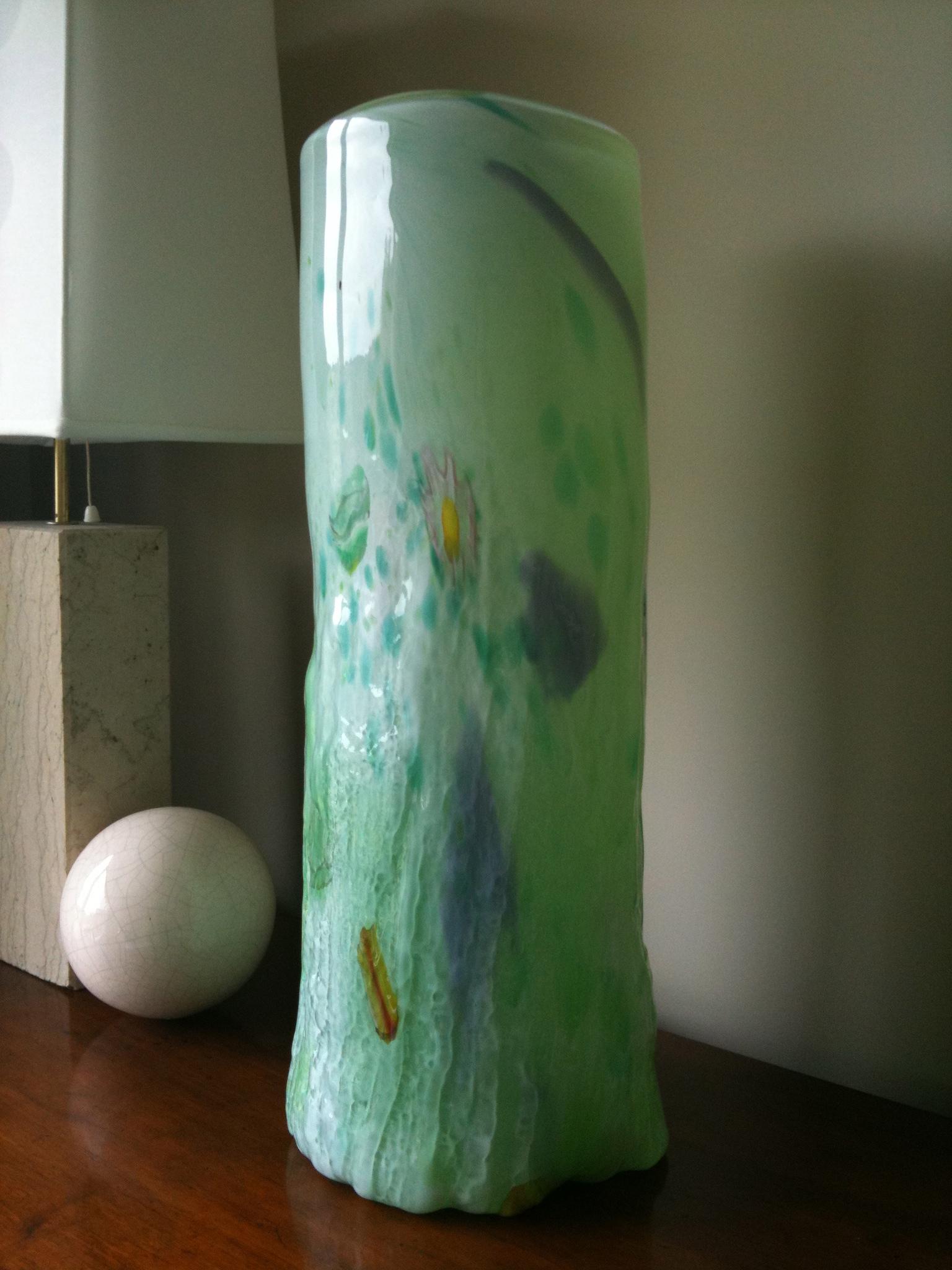 Glass Log