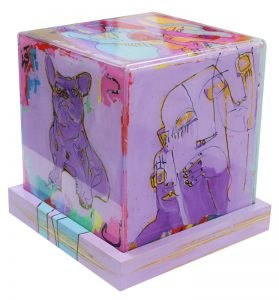 Perspex with Ply base